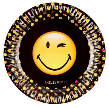 Pappteller Smileyworld
