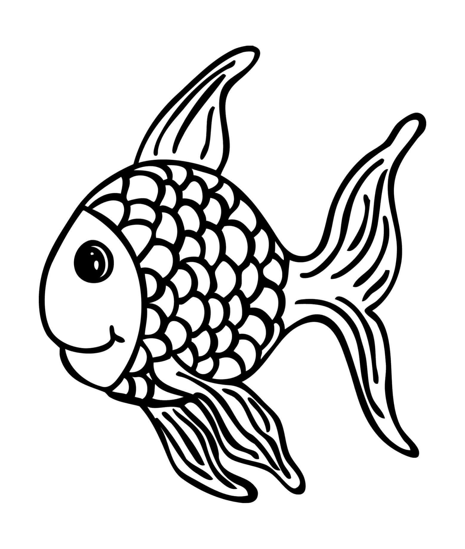 stempel fisch fridolin 65 x 55 mm