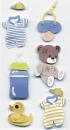 Artwork Babyset blau